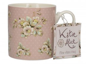 Katie Alice Bögre Cottage Flower Pink Floral