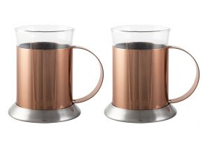 La Cafetiere Bögre szett 2 db-os Origins Copper